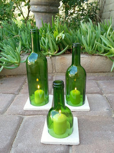 1 Wine Bottle Candle Cover