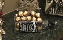 Jack Daniels Whiskey Gifts & Decor - Succulent Bottle Planter, Bowl or Serving Dish