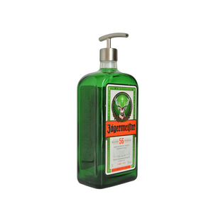 Jagermeister Soap Dispenser - Liquor Bottle Soap Dispenser for Bar Decor - Boyfriend Gift