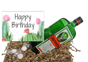 Jagermeister Happy Birthday Gifts - Jager Gift Box