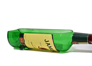 Jameson Irish Whiskey Bottle - Custom Cut into Snack Bowl - Planter - Light Shade - Vase - Dad Gift