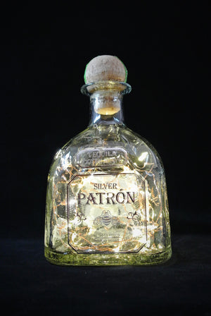 Patron Fairy Lights in Bottle -  Liquor Bottle Light