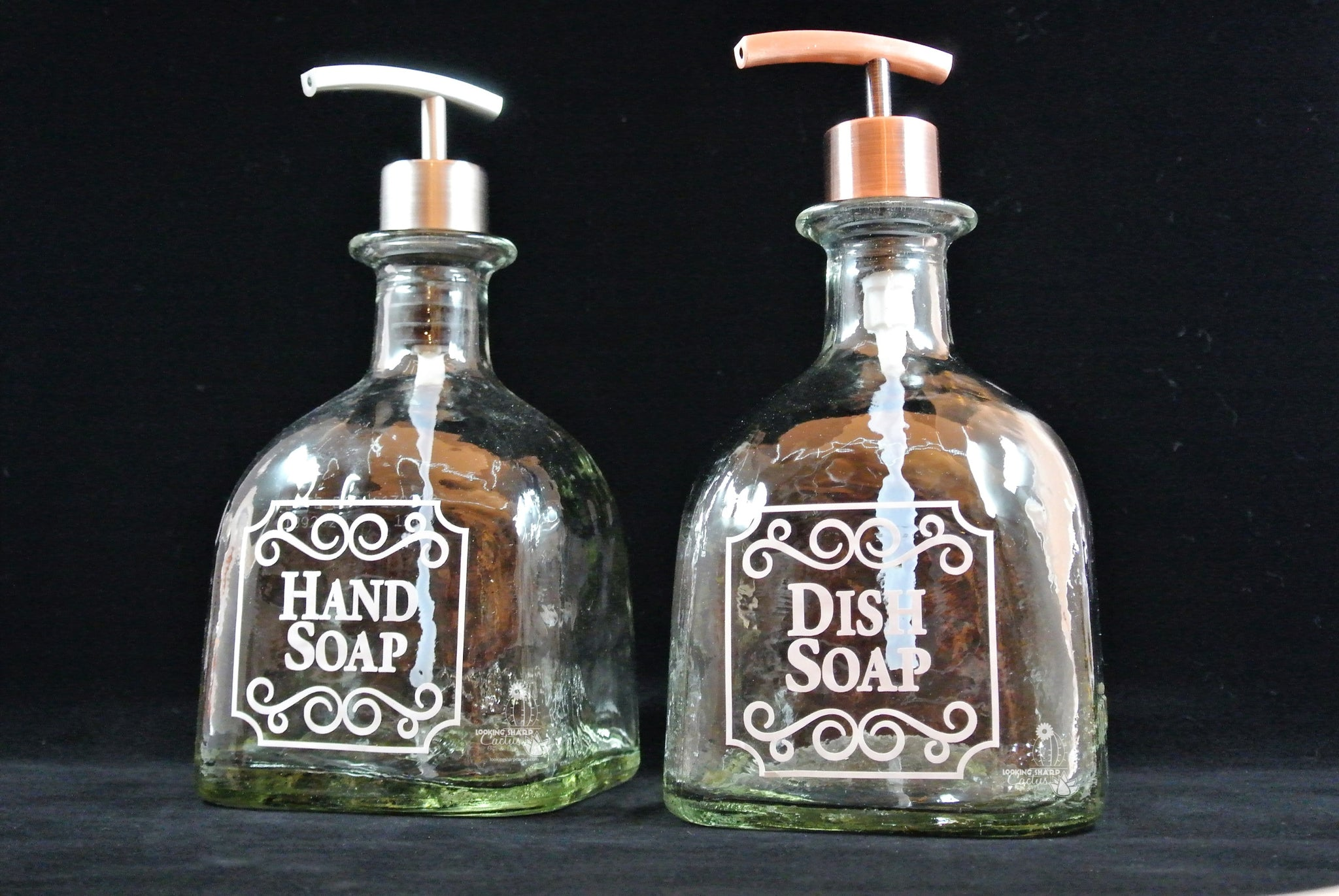 a9be766cadfc Alcohol Birthday Gifts ✶ Glass Soap Dispensers   Looking Sharp Cactus