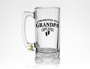 New Grandpa Gift * Promoted to Grandpa Est (your date) * Beer Lover Gift for Pop
