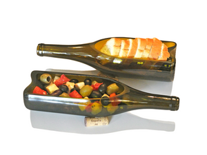 1 Wine Bottle Serving Tray - Serving Dish - Platter or Hostess Gift - Give a Great Wine Gift!