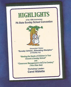 """Meeting the Needs of Children in Your Church & Sunday School"" and ""Classroom Management in the 21st Century"" DVD"