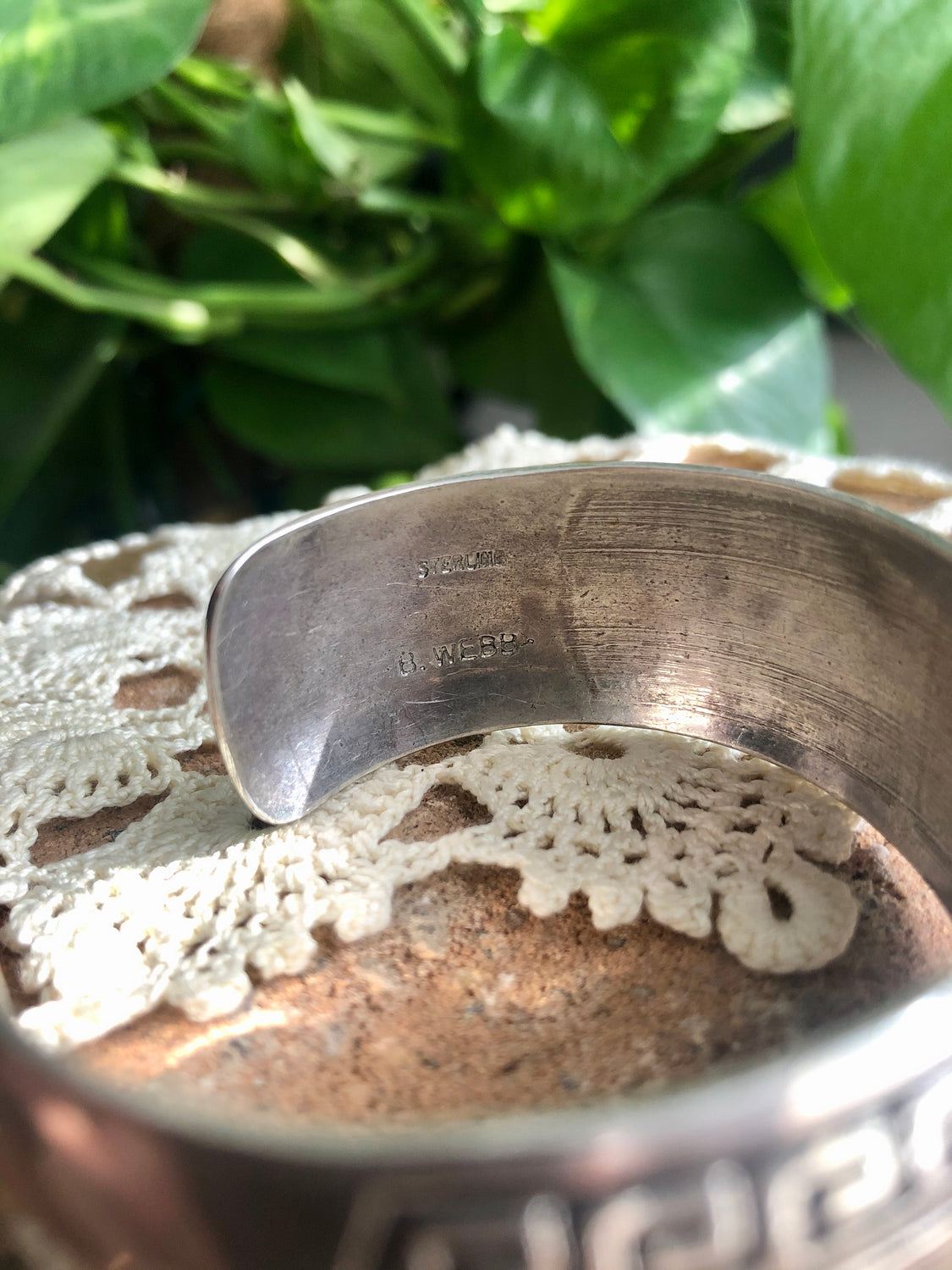 Navajo Detailed Sterling Cuff