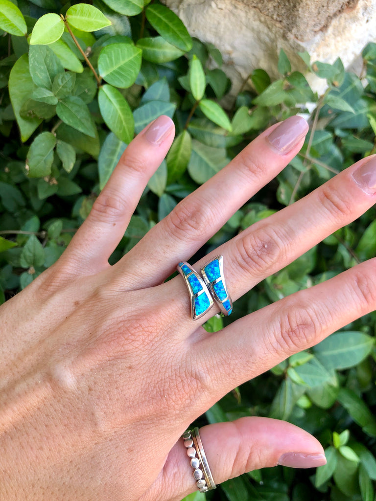 Adjustable Opal Ring