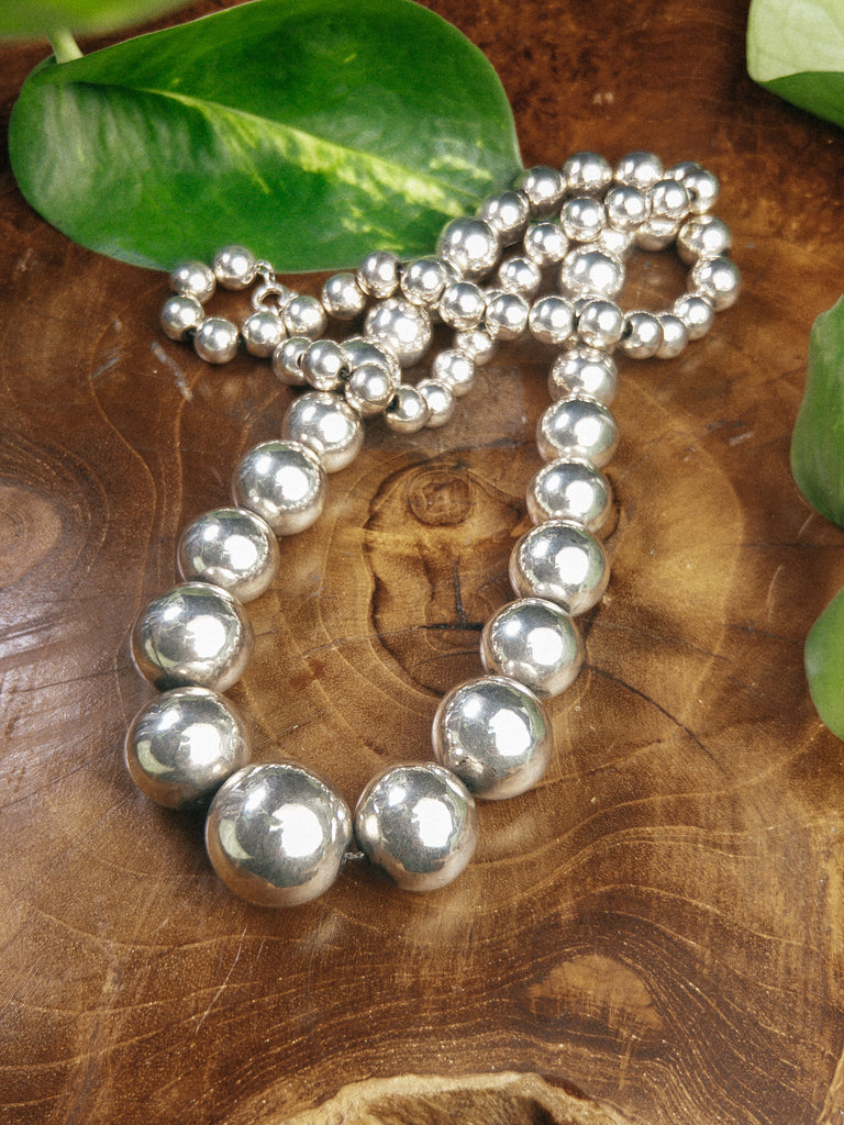 Long Sterling Pearls