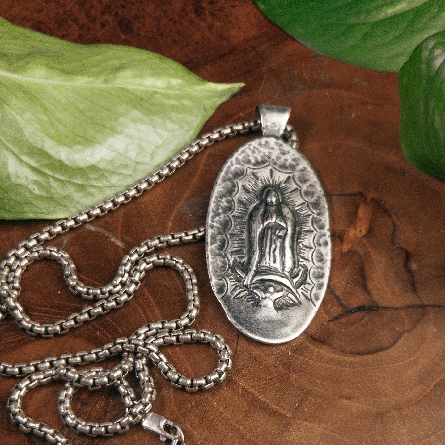 Lady of Guadalupe Statement Necklace