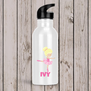 Ballerina Personalised Drink Bottle