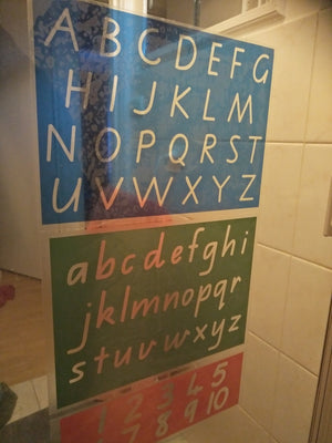 Alphabet Decals