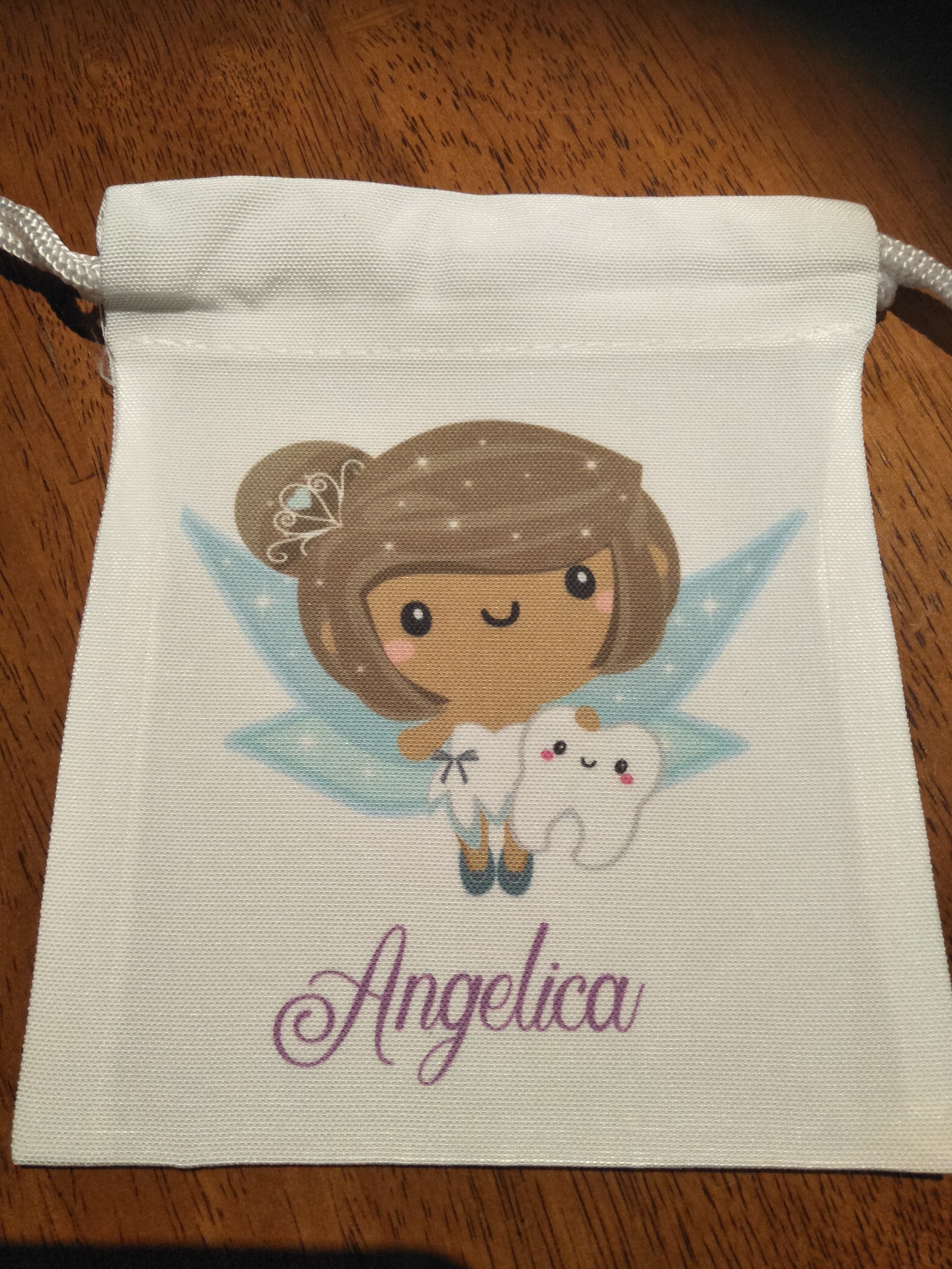 Tooth Fairy Bags - Brunette Hair