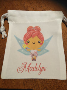 Tooth Fairy Bags - pink Hair