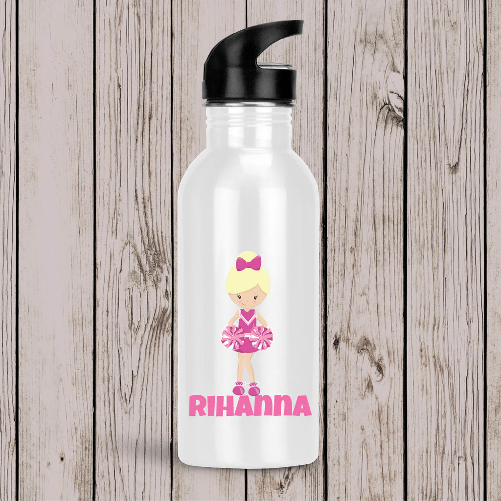 Cheerleader Personalised Drink Bottle