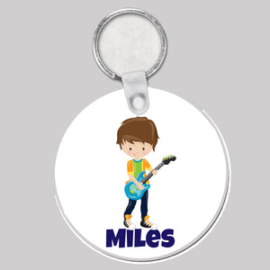 Round Personalised Bag Tags - 250+ Designs!