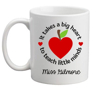 Teacher Mug - Takes a Big Heart