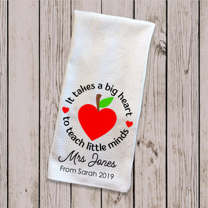 Tea Towel - Teach Inspire Grow