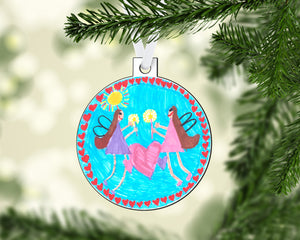 Drawing Christmas Ornament