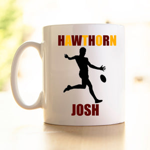 Team Mugs - Hawthorn