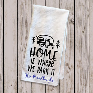 Tea Towel - Where we Park it