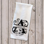 Tea Towel - Monogram