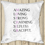 Sequin Cushion Cover - MOTHER