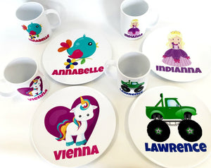 Personalised Mug & Plate set