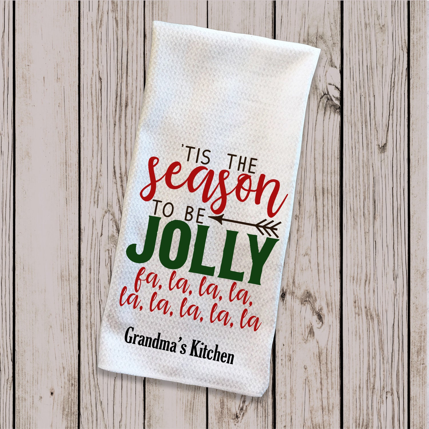 Tea Towel - Tis the Season