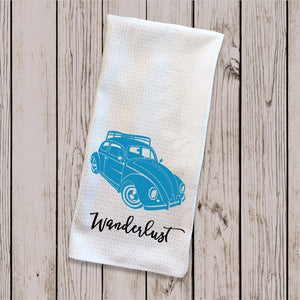 Tea Towel - VW Beetle