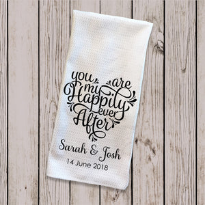 Tea Towel - Happily Ever After