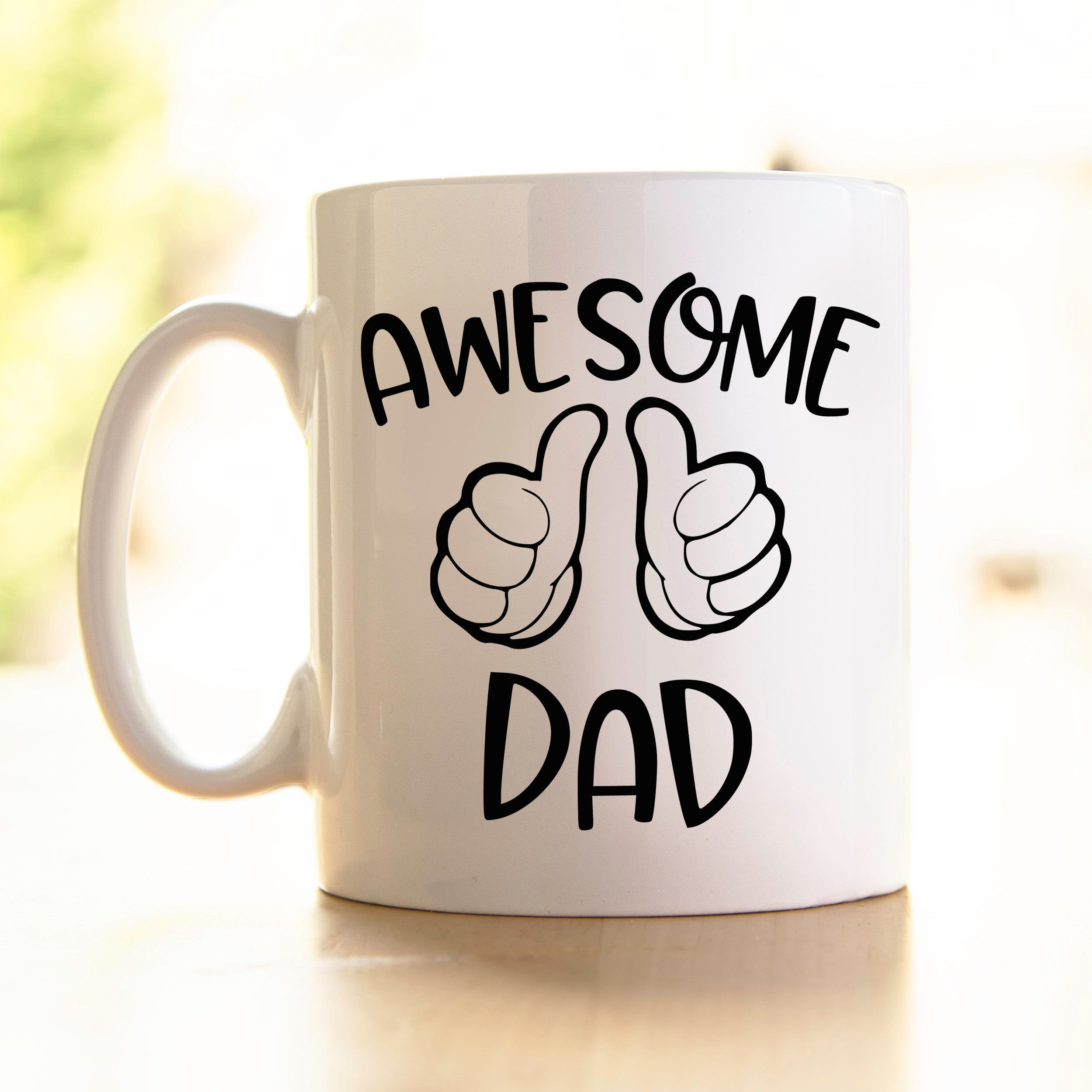 Father's day Mug Awesome
