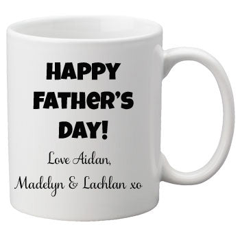 Belongs to - personalised Fathers Day Mug
