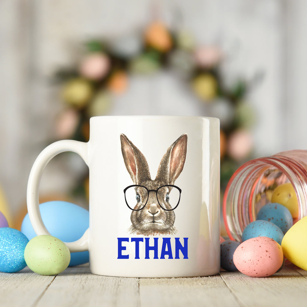 Easter Bunny Glasses Mug