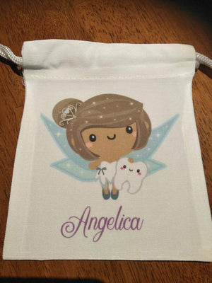 Tooth Fairy Bags - Brunette Boy Fairy