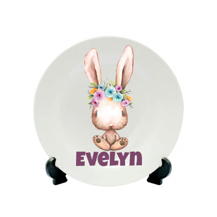 Easter Mug - Boy Bunny Brown