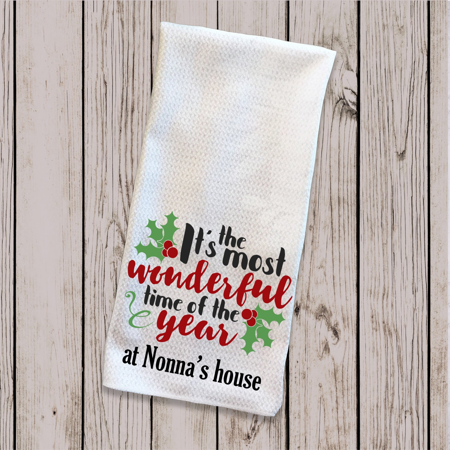 Tea Towel - Time of the Year