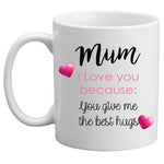 Personalised Mug - Love you because