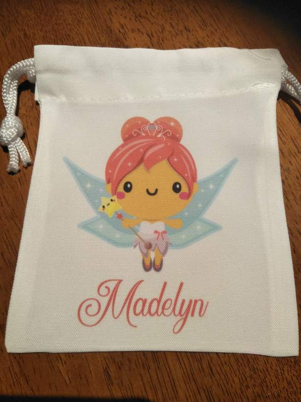 Tooth Fairy Bags - Blonde Fairy Girl