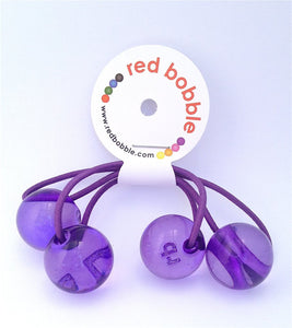 Hair Bobbles - Purple