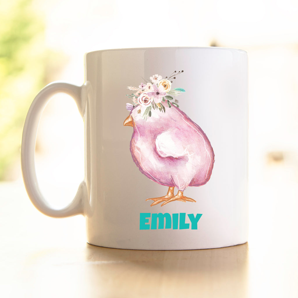 Easter Mug - Purple Chick