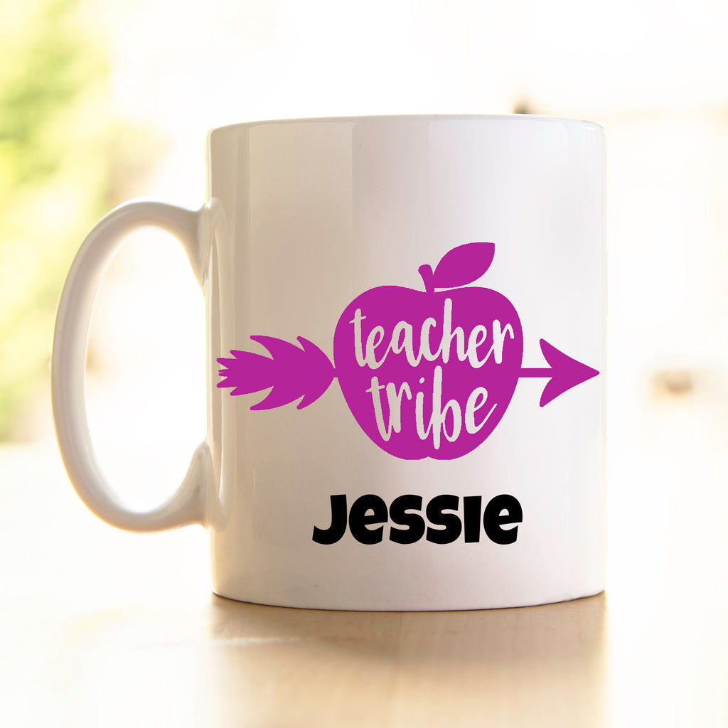 Teacher's Mug -Teacher Tribe -colour options