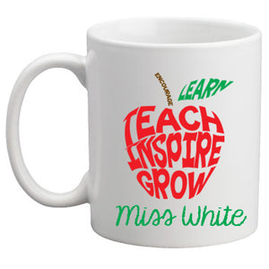 Teacher Mug - Apple Word