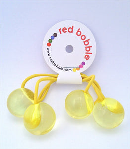 Hair Bobbles - Yellow