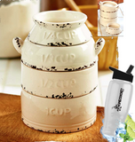 farmhouse measuring cup + free bonus water bottle