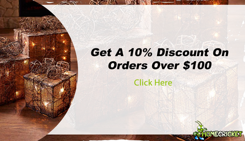 Get 10% Off On Orders Over $100 Click here