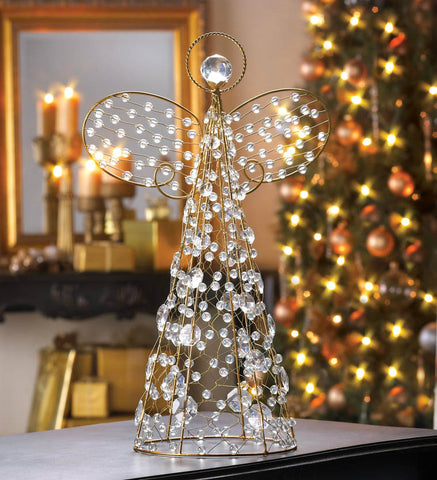 Beaded Angel Décor