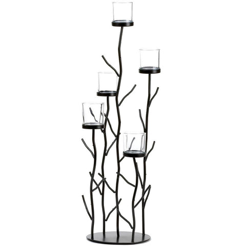 Iron Twigs 26-inch Candle Holder