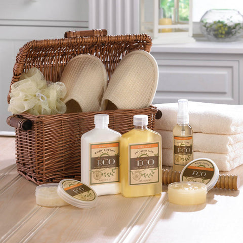 Vanilla Ginger Spa Basket