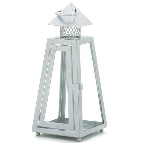 Summit Gray Small Lantern